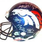 Denver Broncos 2013 Team Autographed Pro Line Helmet
