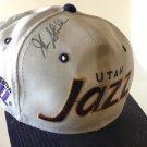 John Stockton Utah Jazz Autographed Baseball Cap