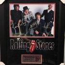 Rolling Stones Band Autographed 11x14 Photograph (Custom Framed)