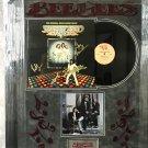 The Bee Gees & John Travolta Autographed Saturday Night Fever Album Cover (Custom Framed)
