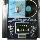 "Eagles ""Their Greatest Hits"" Autographed Album Cover (Custom Framed)"