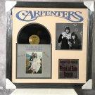 """The Carpenters """"Close To You"""" Autographed Album Cover (Custom Framed)"""