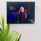 Stevie Nicks Fleetwood Mac Autographed RP 11x14 Canvas Print Wall Art