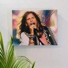 Steven Tyler Aerosmith Autographed RP 11x14 Canvas Print Wall Art