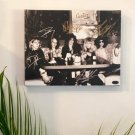 Guns N' Roses Autographed RP 11x14 Canvas Print Wall Art
