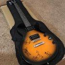 Rolling Stones Band Autographed Les Paul Electric Guitar