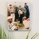 Tiger Woods Autographed RP 11x14 Canvas Print Wall Art