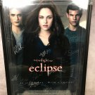 The Twilight Saga: Eclipse Cast Autographed Theatrical Poster (Custom Framed)