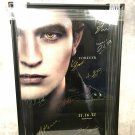 The Twilight Saga: 11-16-12 Forever Cast Autographed Theatrical Poster (Custom Framed)