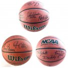 NCAA Greatest Coaches Autographed Basketball John Wooden, Coach K, Bob Knight & more - Clearance