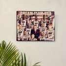 1992 Dream Team USA Autographed RP 11x14 Metal Print Wall Art