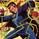 "Stan Lee ""Doctor Strange"" Autographed 8x10 Photograph"