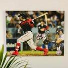 Mookie Betts Boston Red Sox Facsimile Autograph 11x14 Canvas Wall Art