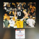 T.J. Watt Pittsburgh Steelers Autographed 8x10 Celebrating Photograph