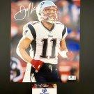 Julian Edelman New England Patriots Autographed 8x10 Running Photograph