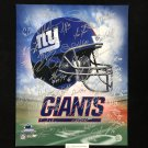 2007 New York Giants Team Autographed 16x20 Photograph