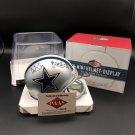 Dak Prescott & Ezekiel Elliott Autographed Dallas Cowboys Mini Helmet
