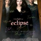 The Twilight Saga: Eclipse Cast Autographed Theatrical Poster (Unframed)