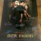 The Twilight Saga: New Moon Cast Autographed Theatrical Poster Unframed