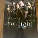 Twilight Cast Autographed Theatrical Poster (Unframed)