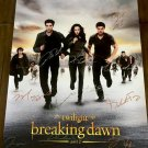 The Twilight Saga: Breaking Dawn Part 2 Cast Autographed Theatrical Poster (Unframed)