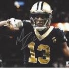 Michael Thomas New Orleans Saints Autographed 8x10 Eating Photograph w/ free frame