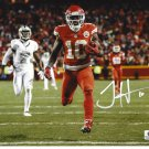 Tyreek Hill Kansas City Chiefs Autographed 8x10 Running Photo w/ free frame