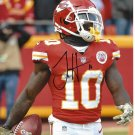 Tyreek Hill Kansas City Chiefs Autographed 8x10 Profile Photo w/ free frame