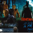 "Kane Hodder (Jason) Friday the 13th Autographed 8x10 Photo Inscr. ""JASON"""