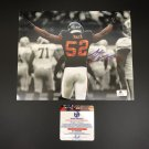 Khalil Mack Chicago Bears Autographed 8x10 Spotlight Photo w/ free frame