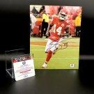 Sammy Watkins Kansas City Chiefs Autographed 8x10 Photo w/ free frame