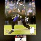 Lamar Jackson Baltimore Ravens Autographed 8x10 Photo w/ free frame