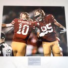 Jimmy Garoppolo & George Kittle 49ers Autographed 8x10 Photograph
