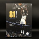 Kobe Bryant Facsimile Autograph 11x14 Canvas Print Wall Art