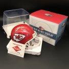Travis Kelce Autographed Kansas City Chiefs Mini Helmet w/ free case