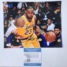 LeBron James Autographed 8x10 Los Angeles Lakers Photograph