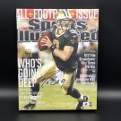 Drew Brees New Orleans Saints Facsimile Autograph 11x14 Canvas Print Wall Art