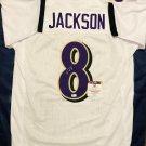 Lamar Jackson Autographed Baltimore Ravens Custom Jersey