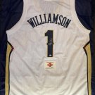 Zion Williamson New Orleans Pelicans Autographed Basketball Jersey