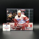 Steve Yzerman Detroit Red Wings Autographed 8x10 Photograph w/ free frame