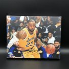 LeBron James Facsimile Autograph 11x14 Canvas Print Wall Art