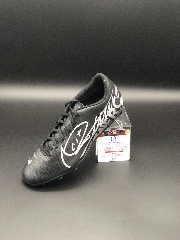 Cristiano Ronaldo Juventus F.C. Autographed Soccer Cleat Shoe