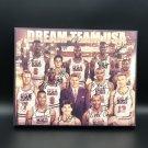 1992 Dream Team USA Facsimile Autograph 11x14 Canvas Print Wall Art