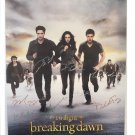 The Twilight Saga: Breaking Dawn Part 2 Cast Autographed 27x40 Poster (Unframed)