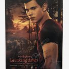 The Twilight Saga: Breaking Dawn Part 1 Cast Autographed Theatrical Poster