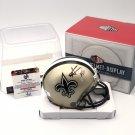 Alvin Kamera Autographed New Orleans Saints Mini Helmet