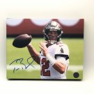 Tom Brady Tampa Bay Buccaneers Facsimile Autograph 11x14 Canvas Print Wall Art