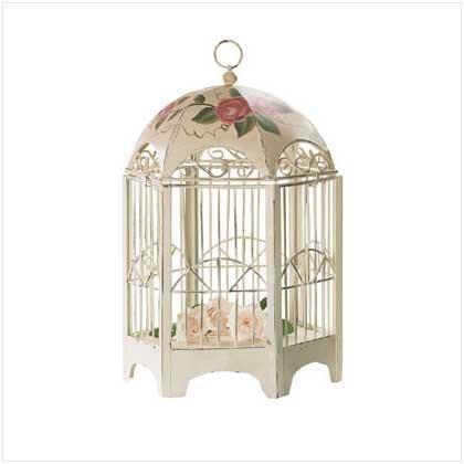 Rose Motif Birdcage