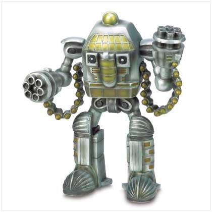 Astronaut Warrior Figurine