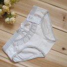 New Sexy Lace Nylon Lingerie Vintage Bikini Panties L40